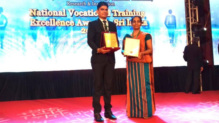 National Vocational Training Excellence Award 2020